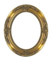 Rabbetworks Ornate Gold Oval Picture Frame 16x20