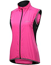 Outto Women's Reflective Running Cycling Vest for Safty and Windproof