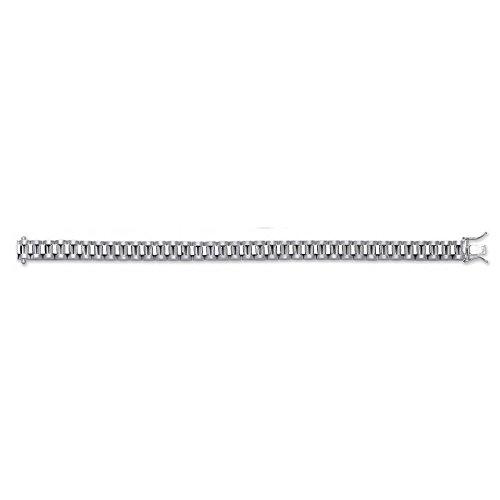 Jareeya-Argent Sterling de luxe pour femme Design Bracelet 25,5G