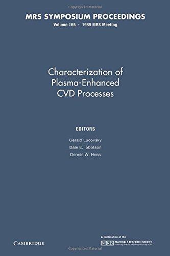 Download Characterization of Plasma-Enhanced CVD Processes: Volume 165 (MRS Proceedings) PDF