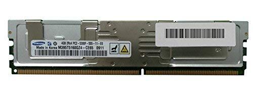 (SAMSUNG MEM DIMM 4GB PC2-5300 FBD 667MHZ, 2RANK M395T5160QZ4-CE68)