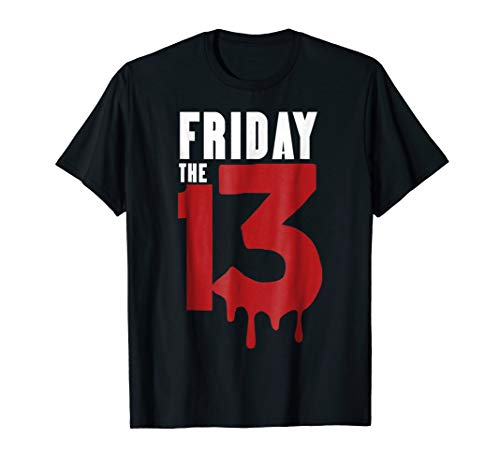 Friday 13th T Shirts Funny Horror Halloween Costumes