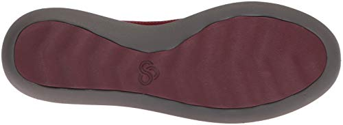 Burgundy 090 Clarks Move Step Us Sneaker W Synthetic Women's Jump xOXP0