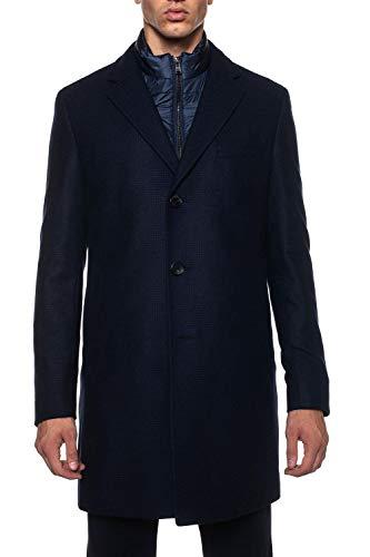 (Hugo Boss Men's Nadim Wool Blend Car Coat (46R))