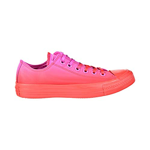 Converse Women's Unisex Chuck Taylor All Star Dip Dye Low Top Sneaker, Active Fuchsia/Enamel Red, 7 M US