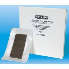 Silverlon Island Wound Dressing - Size: 4'' x 12'' - Box of 5