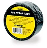 King Innovation Corrosion Protection Pipe Wrap Tape (10 MIL): 2 in. x 100 ft. (Black)