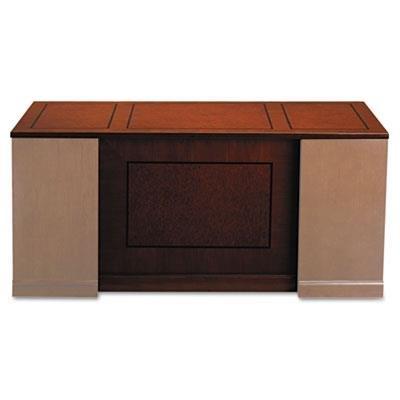 MLNSDTS72SCR - Mayline Sorrento Series Veneer Straight Front Desk ()