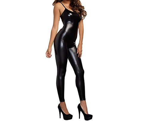 Metallic Tank Top Lame Catsuit Bodysuit (Lame Catsuit)
