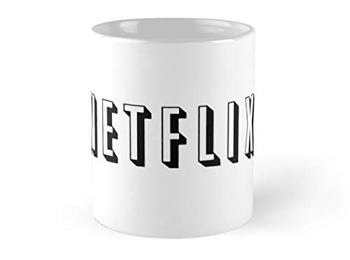 Army Mug netflix in white - 11oz Mug - Features wraparound prints - Dishwasher safe - Made from Ceramic - Best gift for family friends]()