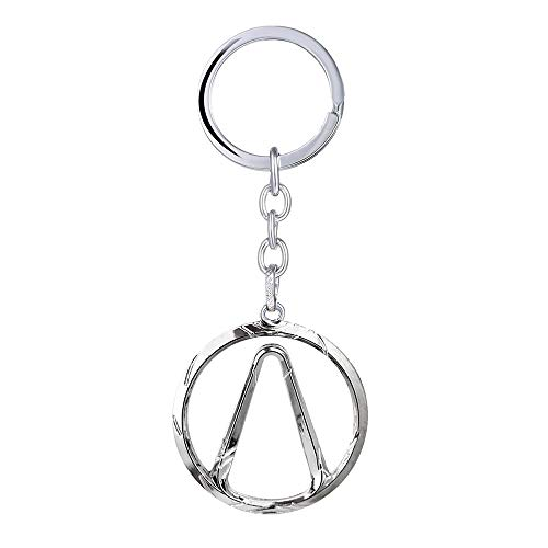 Amazon.com: Game Borderlands Keychain Men Metal Silver ...