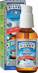 Sovereign Silver, 2 Oz. Gel premiers soins