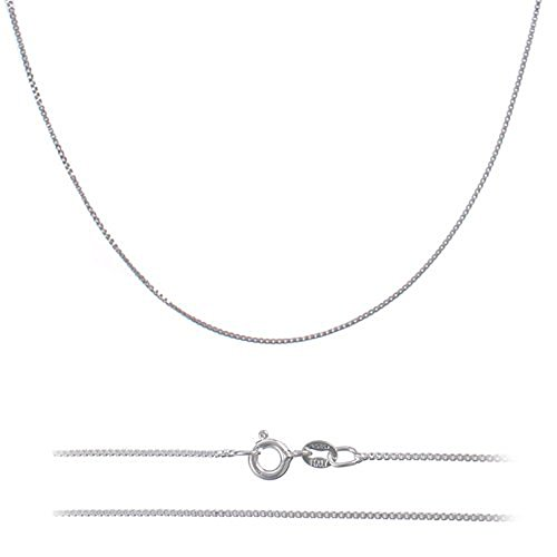 Nickel Italian Sterling Silver Necklace
