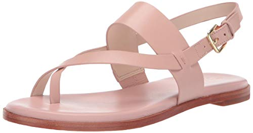 Pink Thongs Sandals Shoes - Cole Haan Women's G.OS Anica Thong Sandal Flat, Pink, 8 B US