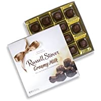 Russell Stover Creamy Milk Chocolates, 4.7 Ounce Box