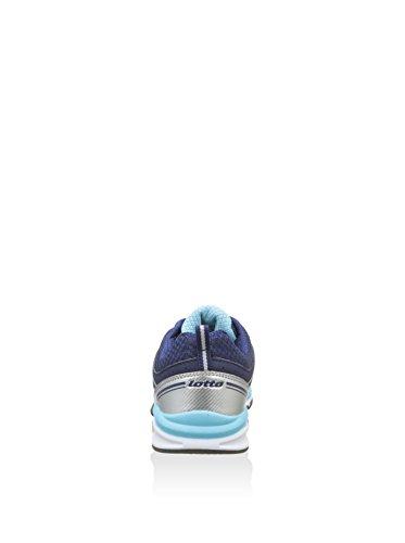 Lotto - Zapatillas de gimnasia de Material Sintético para mujer Azul azul Azul / Cielo