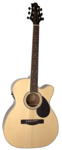 Samick Music G Series 100 GOM100SCE Orchestra Body Acoustic-Electric Guitar, Natural -  Samick Music Corp.