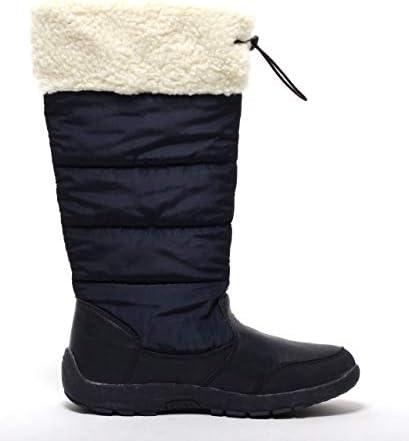 2 Warme Damen Stiefel Schnee-//Winterstiefel Boots Thermostiefel Gr.38 NEU