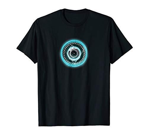 Lightning Reactor Element Circle Robot Shaped Arc Gift Shirt