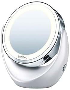 Sanitas SBS 44 - Espejo para maquillaje con luz