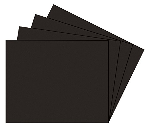 Alvin Photo Mat Board (Alvin PB810-25 Black on Black Presentation Boards 8 inches x 10 inches)