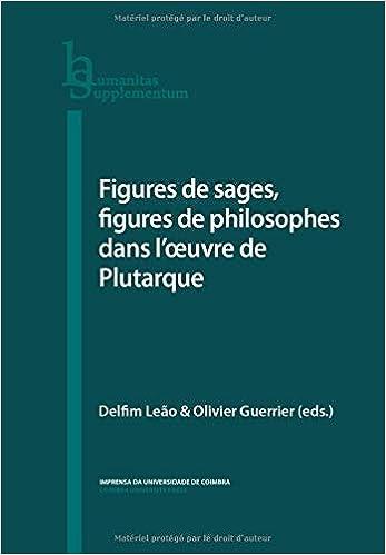 Figures de sages, figures de philosophes dans l'œuvre de Plutarque