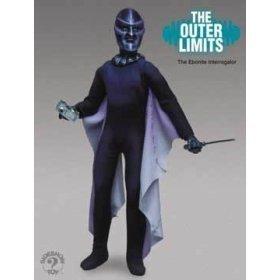 Chief Ebonite Alien Interrogator Action Figure from Science Fiction Show