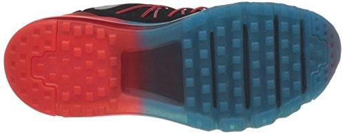 Nike Mens Air Max 2015 Nero / Bianco / Brght Crmsn / Bl Lgn Scarpa Da Corsa (10)