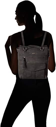 Mochila Bolsos Negro Mujer Adriana Backpack black Tamaris tqwgCC