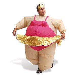 Inflatable Ballerina Fancy Dress Costume: Amazon.co.uk ...