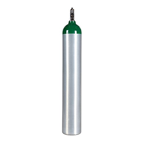 - Medical Oxygen Cylinder with CGA870 Post Valve - E Size 24.1 cf (ME)