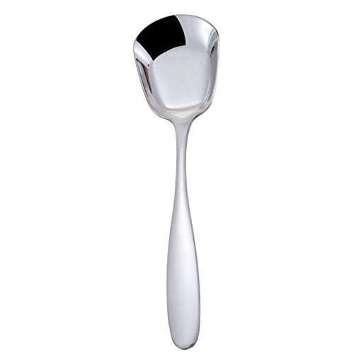 Ice Cream Scoop Kitchen Home Square Design Stainless Steel Mirror Polish Rice Practical Table Spoon Handle Accessories Food Non-stick