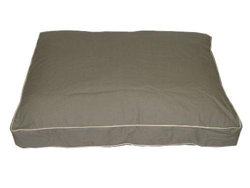 Cpc Classic Twill Ex Large Rectangular Pet Bed, Sage