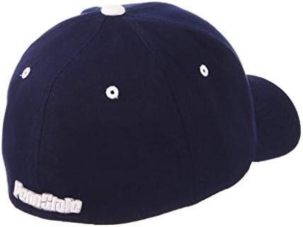 Zephyr Penn State University PSU Nittany Lions Dark Blue Navy Broadcast Top Cotton Mens//Womens Adjustable Baseball Hat//Cap