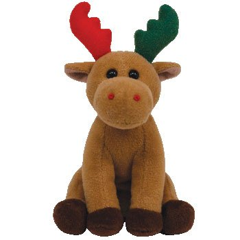 Ty Baby Beanies Herald - Moose