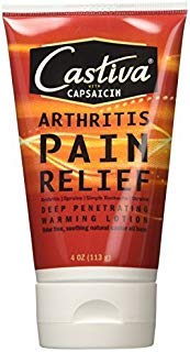 Castiva Arthritis Pain Relief Lotion with Capsaicin 4 OZ - Buy Packs and SAVE (Pack of 2)
