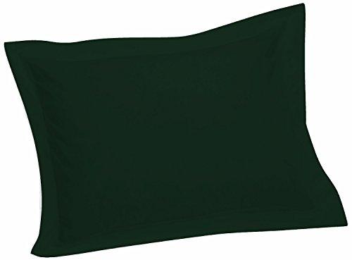 Hunter Sham - Crescent Tailored Comfy Easy Care Pillow Sham Standard (Hunter)
