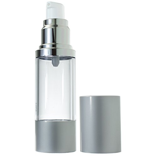 Airless Pump Bottle Refillable Container - 1 oz