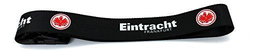 Set: Eintracht Frankfurt Nackenrolle und Kofferband Nackenkissen Dekokissen Autokissen Relaxkissen Kissen gepäckband