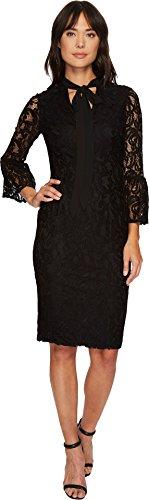 black lace dress london - 1