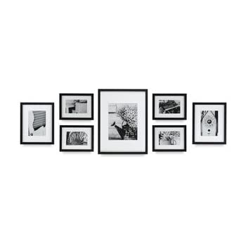 nielsen bainbridge gallery perfect frame kits black 7 piece set