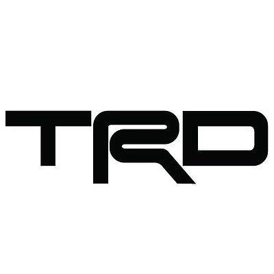 Amazon Com Trd Toyota Racing Development Vinyl Sticker Decal Jdm