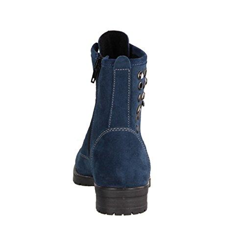 Bleu Doublée Enfant nbsp;– 18–42 velours Pour nbsp;enfants Chaussures Bottes Cuir 7827700147 Disanta Ricosta wq8Hv4