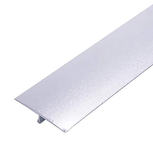 GWXFHT Threshold Strip T type Wooden door Decorative strip Threshold strip Aluminum alloy Wooden floor bead Edge strip…