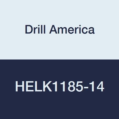 7//8-9 Drill America HELK1185-14 High Speed Steel Inserts