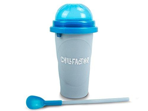 BCdirekt Magic Freez Slushy Maker Colour Change Chillfactor Slusheis selbermachen (blau)