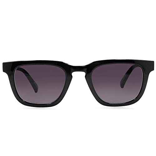 In Style Eyes Nordy Classic Reading Sunglasses. Not Bifocals (Black - Sunglasses Black Reading