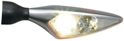 VL Rhombus PL LED //silber matt Kellermann Blinker //Begr
