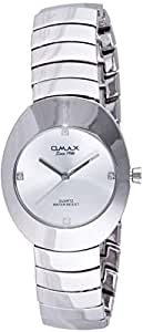 Omax White Dial for Men - Analog 00HB0919P038 Metal Watch