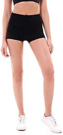 Taille Haute Amincissant Pochette Lait la Gymnastique Fit Adh/érent Leggings Courte la Course et Le Crossfit Ducomi LAX Short de Sport pour Femme Short de Fitness pour Le Yoga